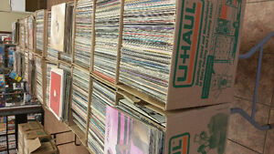 Over 3500 RECORDS $1 EA - NEW RECORD STORE