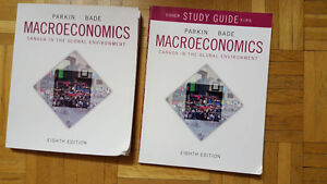 Macroeconomics Parkin Bade Textbook and Study Guide