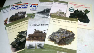 Assorted WW2 Armour Books Kitchener / Waterloo Kitchener Area image 2