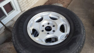 GM/CHEV/GMC 6 BOLT RIMS/TIRES