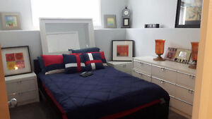 Used Double Ikea Bed Frame