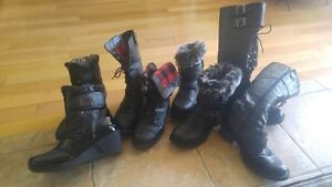 Assorted Womens Boots...$100.00 for all 4 pair. Cambridge Kitchener Area image 1