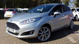 2017 Ford Fiesta 1.0 EcoBoost 125 Titanium X 5d Manual Petrol Hatchback