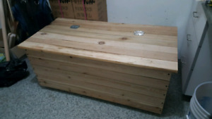 Porch/padio storage box