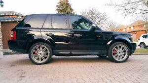 REDUCED -Range Rover Sport with 22 Inch Wheel Package and extras