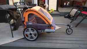 In Step Quick n Ez Double Bicycle Trailer/Stroller