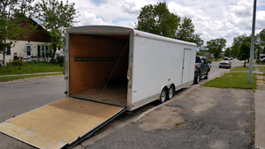 24ft Cargo Trailer/ Car Hauler