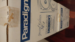 PARADIGM SPECIAL EDITION SE1 SPEAKERS NEW IN BOX