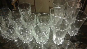 wine glasses(tumblers & stem ware) also beautiful wine rack Belleville Belleville Area image 2