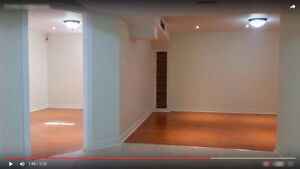 Never-Lived-in, Professionally Finished 1 BR Basement Apartment
