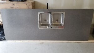 MUST SEEl! Brand New Kitchen Countertops + Sink & Faucet - MINT