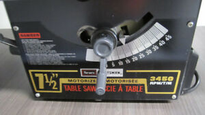 "CRAFTSMAN 7 1/2"" Table Saw"