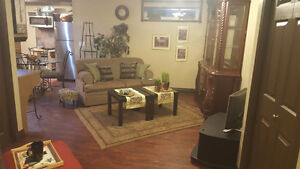 Stylish furnished suite in St. Albert