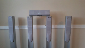 5 JVC speakers