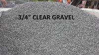 Limestone Screening, Crusher Run, Gravel, Top Soil, Mulch