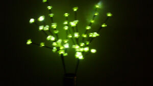 2 CHERRY TREE FLORAL LED LIGHT UP BRANCHES for sale
