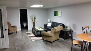 Fully furnished basement suite for rent