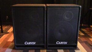 Enceinte sono passive Carvin et Behringer EP2500