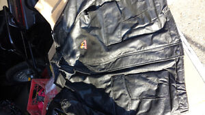 Mack truck leather jacket and another mack jacket
