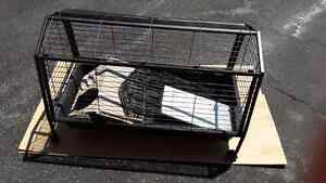 SMALL ANIMAL CAGE WITH FENCING