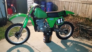 Kawasaki KX 420 2stroke