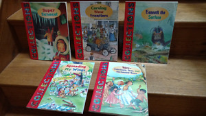 5 Children's Anthologies (collections of stories and poems)