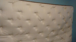 Lightly used King mattress with organic cotton top