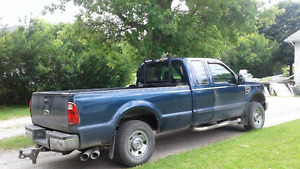2008 Ford F-250 XLT Diesel Truck Longbox Extended Cab