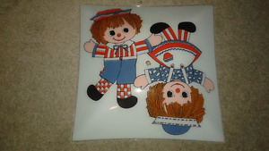 Vintage 70s reggedy ann and andy light shade