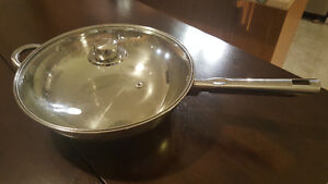 Moving sale - Stainless steel wok
