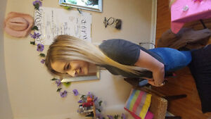 HAIR EXTENSIONS DONE BY SOMEONE WHO IS CERTIFIED WITH EXPERIENCE