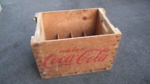 Trade - Coca Cola/Timmins Bottling Works,Wood Crate
