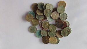 lot of 44 USA Wheat pennies