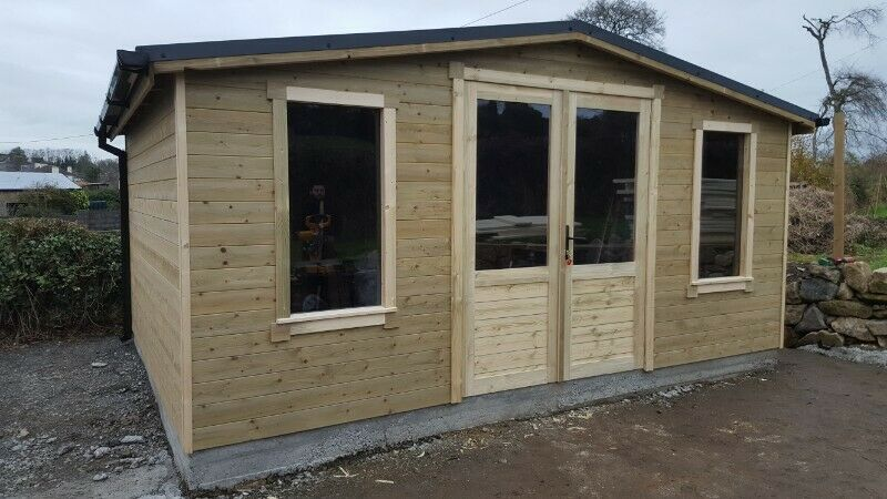 Premium Bespoke Custom handmade on site garden sheds and cabin commissions from €899.00 to €5000.00