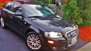 Audi A3 RS Turbo-Sportback Excellente condition /bas kilométrage