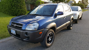 2005 Tucson in excellent condition, safety + etest done.