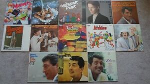 Nice Collection of Vinyl! Archies, Dean Martin, Muppets, etc..