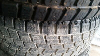 """215/50/17 Winter tires on17"""" rims MAZDA or 5x114.3 TRADE"""