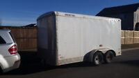 1-2 Guys, 7x14 Encl Trailer- Delivery/Moving Service ($50-$70/h)