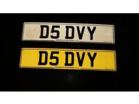 RARE PRIVATE NUMBER PLATES