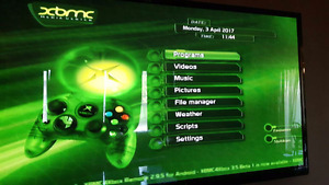 Modded original xbox with xbmc and emulators