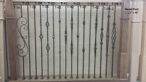 IRON PICKETS, STAIR RAILINGS ,BALUSTERS,Hardwood,Stairs laminate