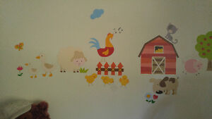 Farm Crib Bedding And Wall Decals Belleville Belleville Area image 5