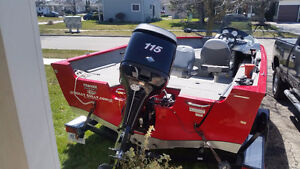 Ready to fish? 2011 Tracker Pro Guide 175 Sc  fully loaded