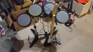 Rockband kit for xbox 360
