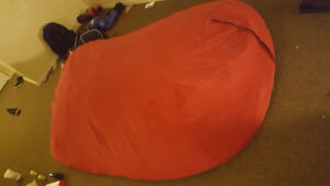 Very Large Red Bean Bag