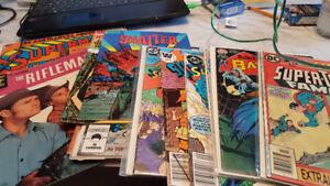 1950th-1980 th comics books for sale.