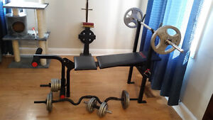 Weights Bench and Elyptical
