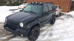 Jeep liberty Renegade 2004 188 000km 4x4