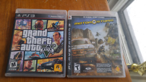 Two PS3 Games